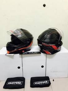 Grayfosh Fullface helmet Flip Up new