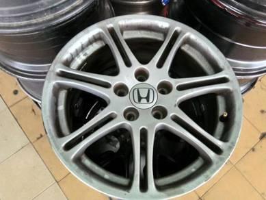 Honda original sport rim 17 inch civic fd stream