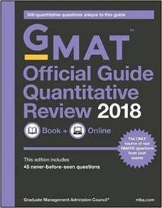 GMAT Official Guide 2018 Quantitative Review 2ndEd