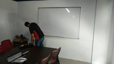 White board 4x6 magnetic siap pasang