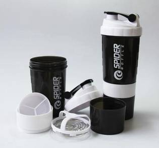 Protein powder milk shaker bottle gym mass gainer