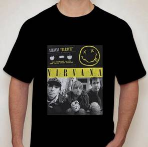 Nirvana Bleach Cassette tshirt