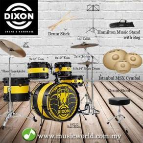 Drum Set -DIXON PYTHON SERIES Limited