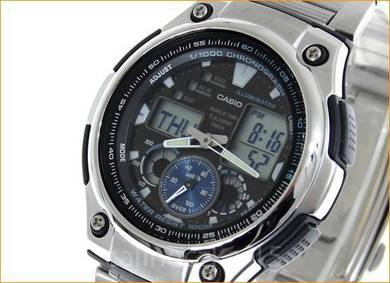 Watch- Casio World Time AQ190WD-1AV -ORIGINAL