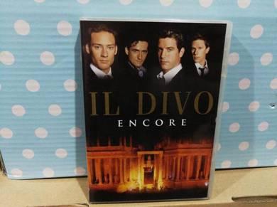 DVD IL DIVO - Encore