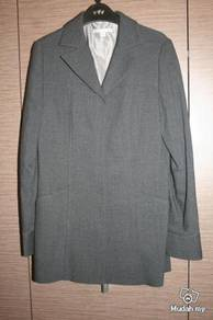 Grey color jacket for mild winter