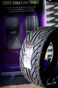 255-35-18 Achilles 123s Semi Slick Tyre Tire Tayar