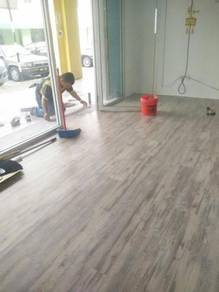Vinyl Flooring for shop house and office