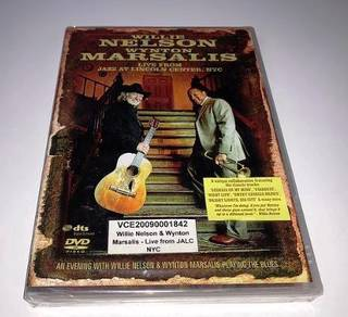 Willie Nelson & Wynton Marsalis Live NYC DVD