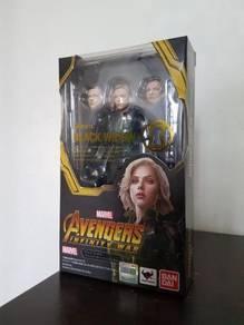 SH Figuarts Black Widow Avengers Infinity War MISB