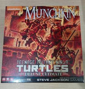 Munchkin Teenage Mutant Ninja Turtles Deluxe Ulti