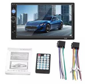 New double din 7inci support mirror link