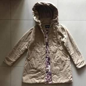 Brown Winter Coat with Hood