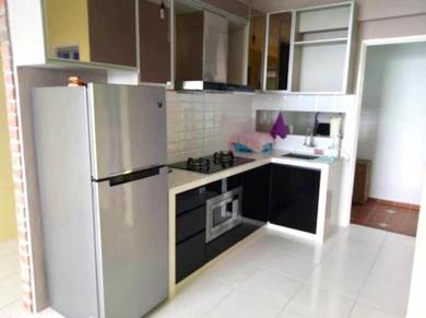 The Pulse Gelugor High Floor 800sf NICE Fully Renovated Furnished DEAL