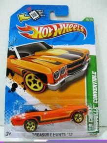Hotwheels '12 Treasure Hunts '70 Chevy Chevelle