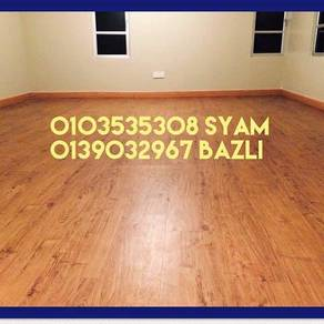 PapanLantai Vinyl PVC3mm Laminated Floor 8mm
