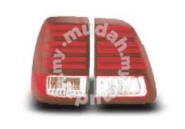FJ100 LED TAIL LAMP LED red and black