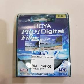 HOYA Pro 1 Digital Camera Lens Filter 55mm