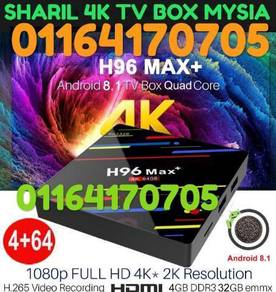 LIVE GLOBAL MAX 4G+64GB android hd tv box