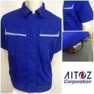 AITOZ working clothes short sleeve jumper