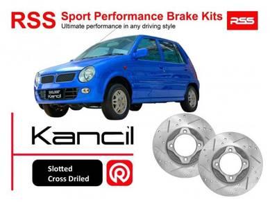 Perodua Kancil RSS Sport Disc Brake Pad Kits