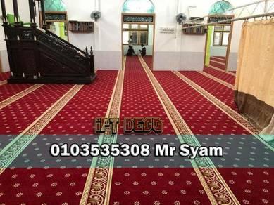 Karpet masjid kualiti turkie / 9aqw