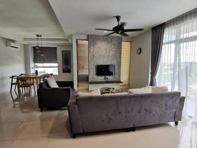 HIGH LEVEL FULLY FURNISHED CORNER UNIT Sky Residence CINTA SAYANG