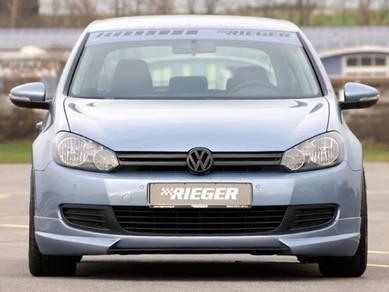 Volkswagen Golf MK6 TSI Rieger Front Lips