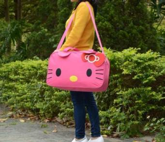 [READY STOCK] Cute Hello Kitty Travelling bag -1