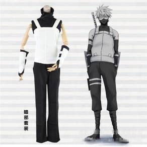 Naruto kakashi Anbu cosplay costume