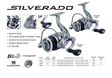 SEAHAWK SILVERADO 2500_6000 Fishing Reel