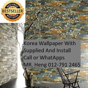 PVC Vinyl Wall paper with Expert Install 0o4e2