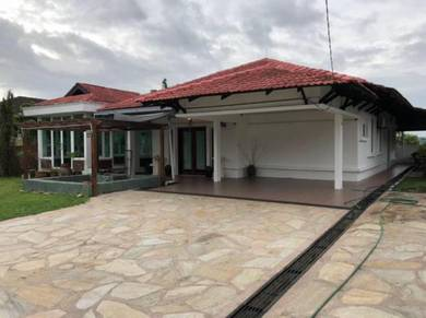 Single storey bungalow at bukit beruntung