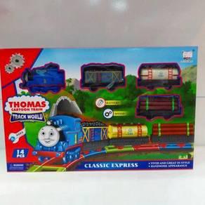 Thomas & friends set permainan keretapi /