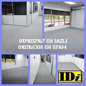 Pasangsiap karpet pejabat / carpet pile /3SMN