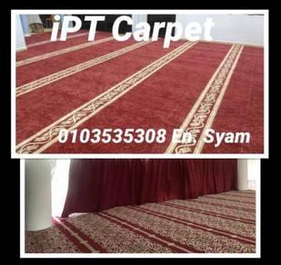 Carpet masjid bercorak / karpet pejabat / 3TGR