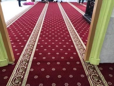 MASJID karpet idi floor. carpet pejabat /YB5T