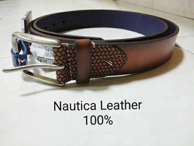 Nautica original leather belt