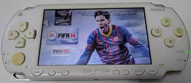 Sony PSP 1000 White color with preloaded games