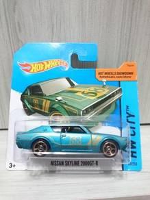 Hotwheels Nissan Skyline 2000 GT-R not Tomica
