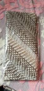 Wallet panjang lelaki king cobra asli 100%.