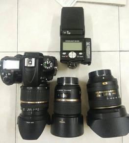 Nikon d7000 fullset with 3 lens