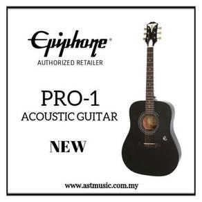 Epiphone Pro 1 Pro One Pro-1 Acoustic Guitar-BK