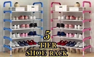 N9- 5 Tier Shoe Rack