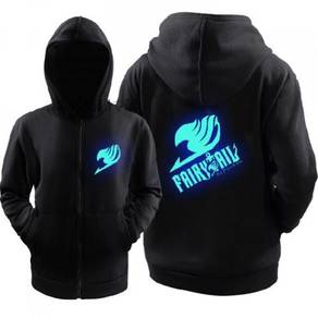 Fairy tail hoodie glow in light