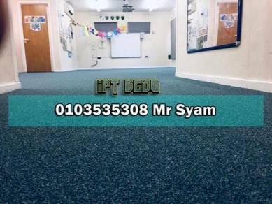 Loop carpet pile / karpet ppejabat bumiputra / 5cx
