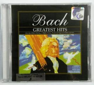 Classical Music CD Barch Greatest Hits