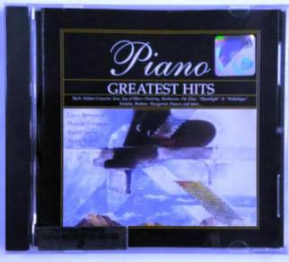 Classical Music CD Piano Greatest Hits