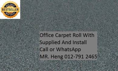Natural OfficeCarpet Rollwith install rd2w5