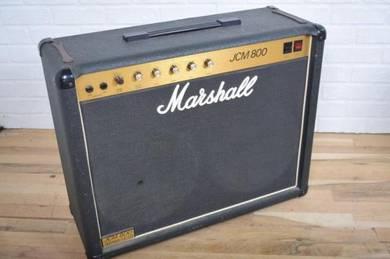 Marshall 1984 vintage JCM800 4204 tube amp combo